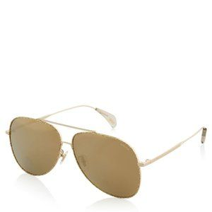 NWT Police Sunglasses gold #67018